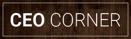 Dark Wood Wording CEO Corner